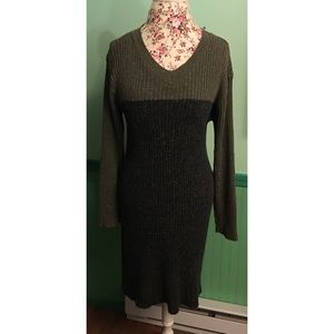 Vintage Jonathan Cass Heavy Sweater Dress M